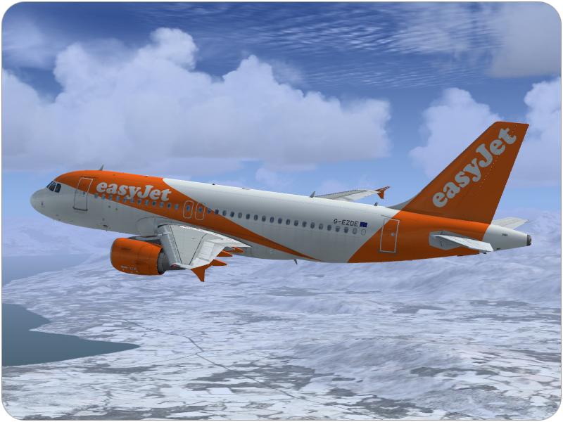 Airbus A319 CFM easyJet G-EZDE - Airbus A318/A319 liveries