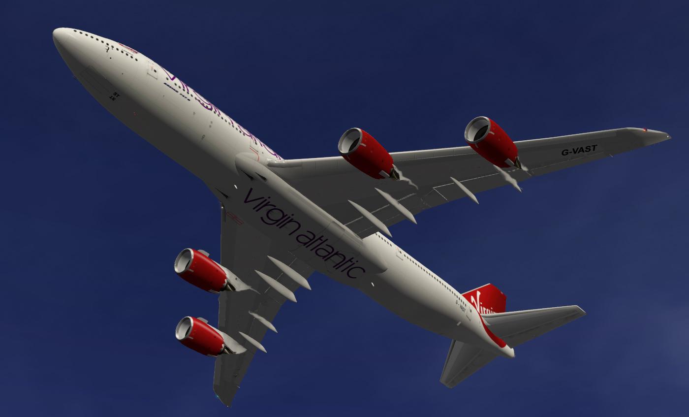 Virgin Atlantic SSG 747-8i - SSG - AEROSOFT COMMUNITY SERVICES