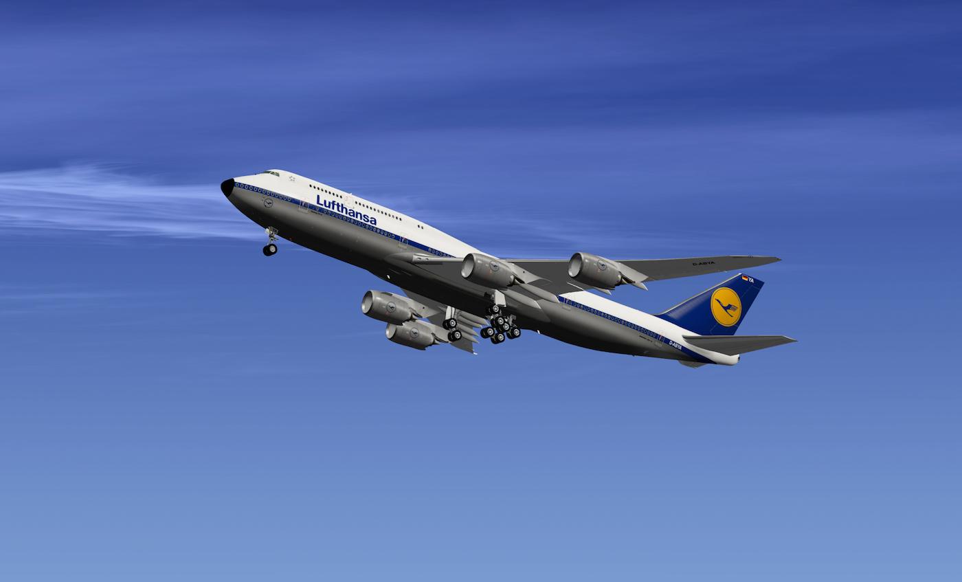 Lufthansa Retro SSG 747-8 - SSG - AEROSOFT COMMUNITY SERVICES