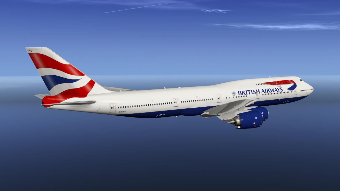 SSG 747-8i - British Airways - SSG - AEROSOFT COMMUNITY SERVICES