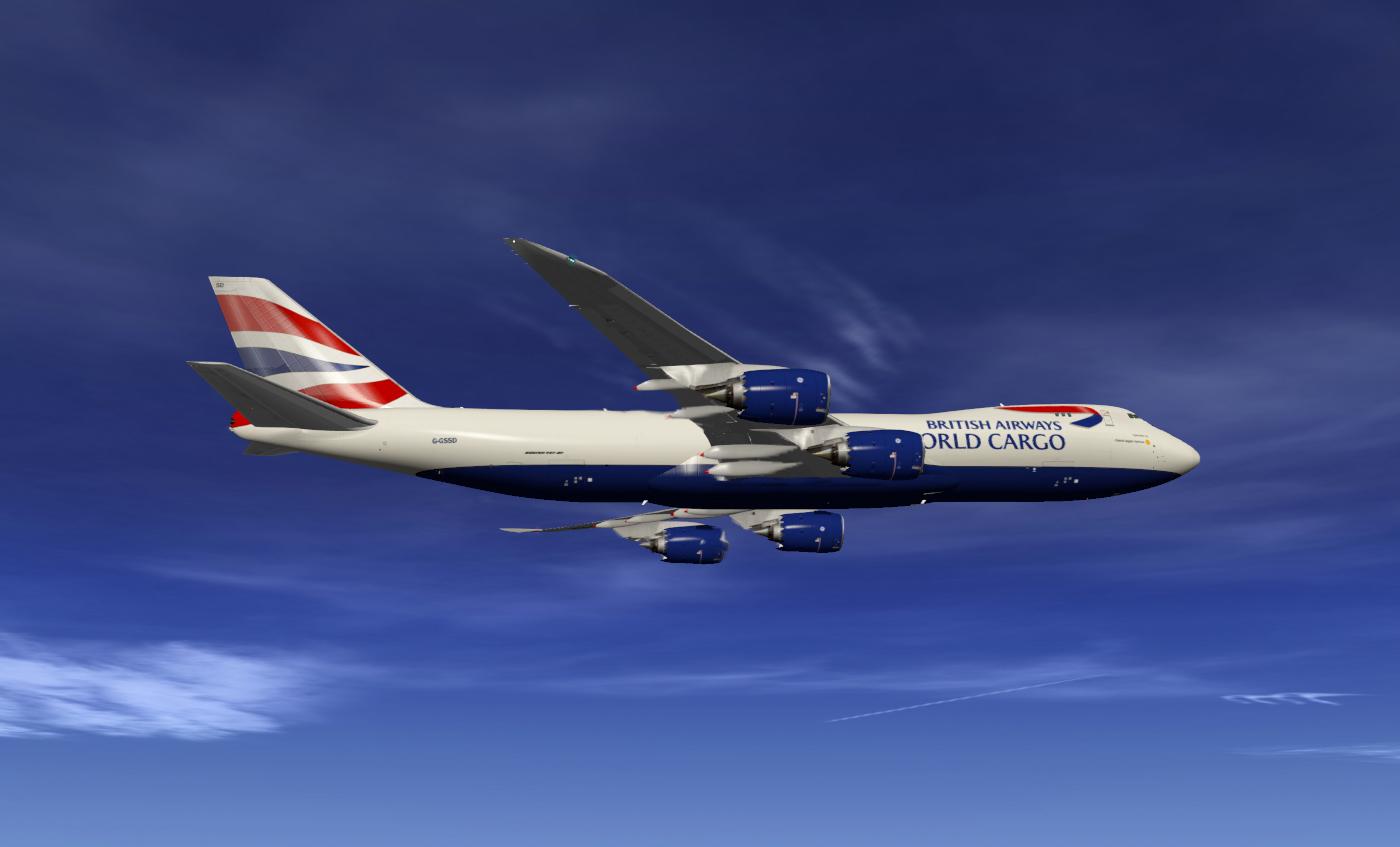 SSG 747-8i - British Airways Cargo - SSG - AEROSOFT