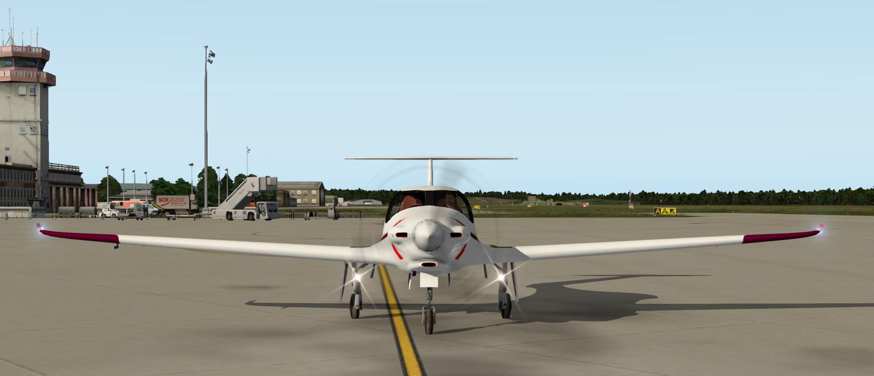 Livery D-EHFB for the Pipistrel Panthera (aerobask) - Others