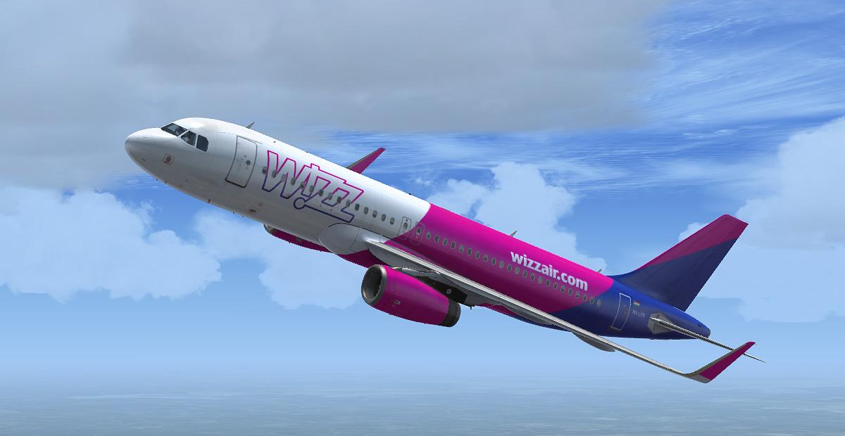 Wizz Air Airbus A320 Ha Lyr New Livery Airbus A320 A321 Liveries Aerosoft Community Services