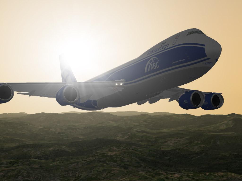 SSG Boeing 748-F ABC CARGO - SSG - AEROSOFT COMMUNITY SERVICES