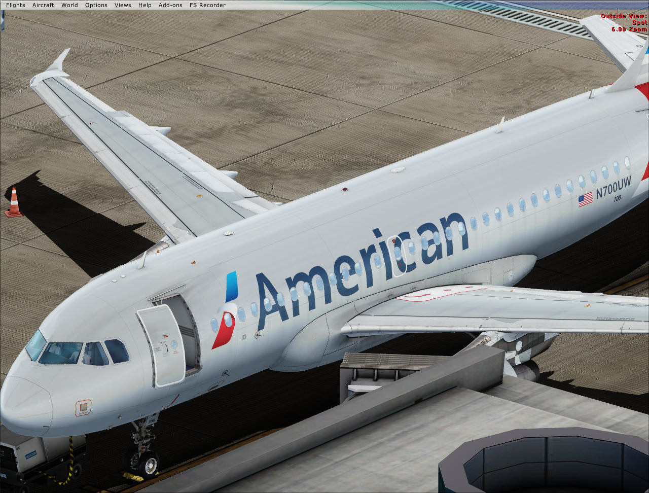 American Airlines N700UW Airbus A319-112 (Non-sharklet) - Airbus