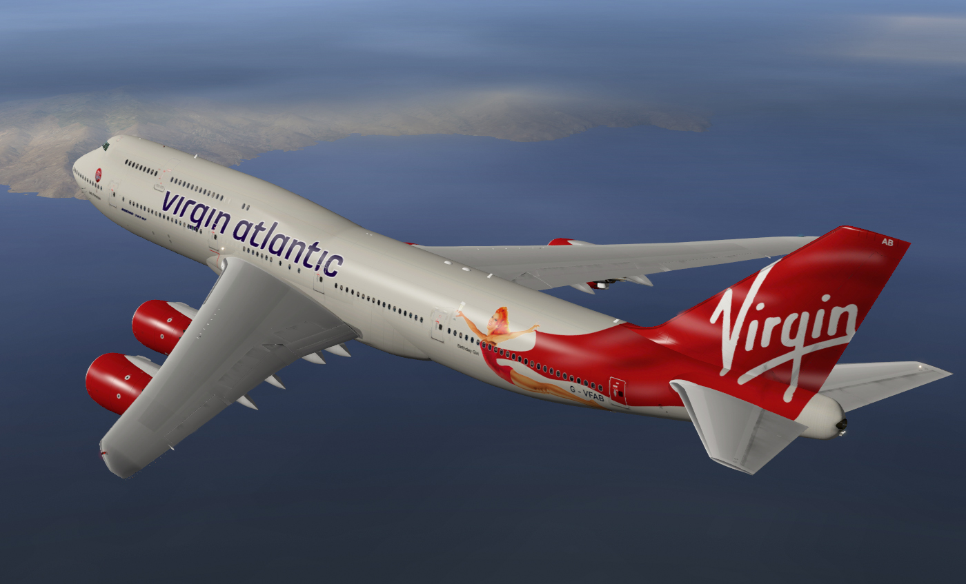 Virgin Atlantic 747-8 21st Birthday - SSG - AEROSOFT COMMUNITY SERVICES