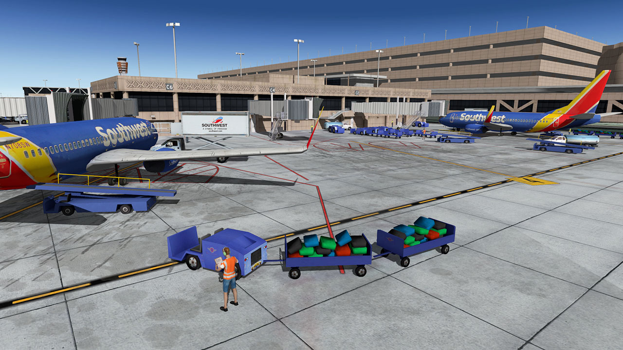 KPHX - Phoenix Sky Harbor International - Scenery Package