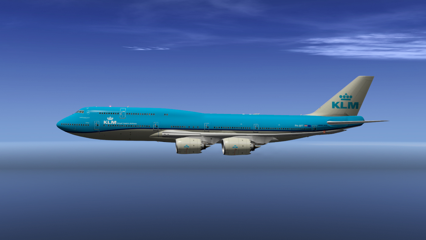 SSG 747-8 KLM Royal Dutch Airlines - SSG - AEROSOFT