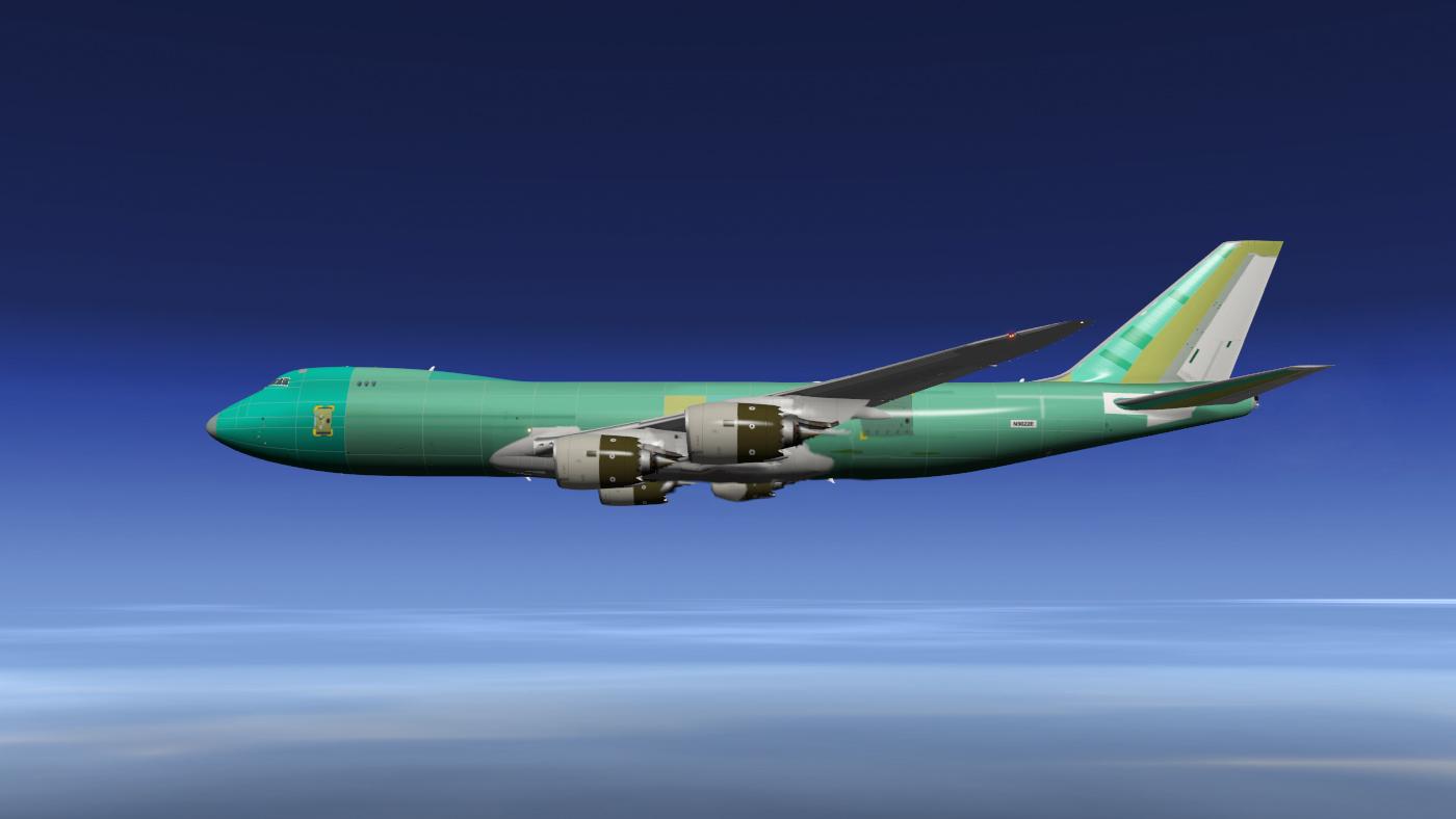 Bare Metal Factory SSG 747-8 Cargo - SSG - AEROSOFT COMMUNITY SERVICES