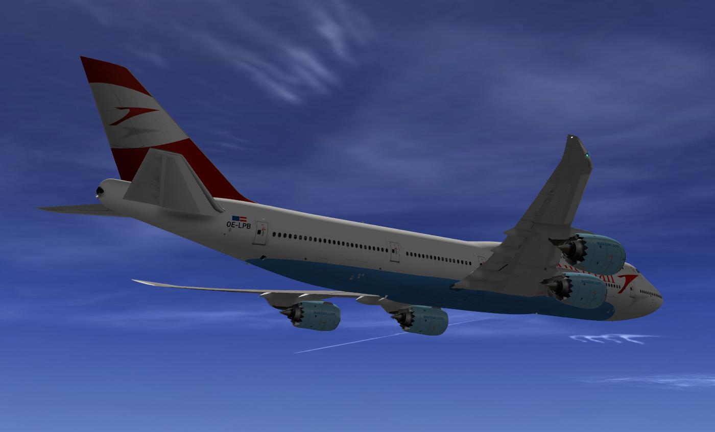 Austrian Airlines SSG 747-8i - SSG - AEROSOFT COMMUNITY SERVICES