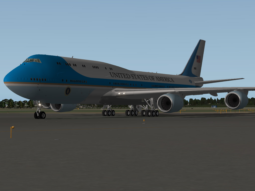 SSG Boeing 748-i Advanced Air Force One - SSG - AEROSOFT COMMUNITY