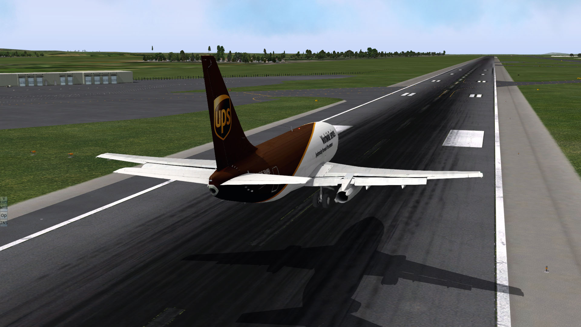 UPS - Boeing 737-200 TwinJet - FlyJSim - AEROSOFT COMMUNITY SERVICES