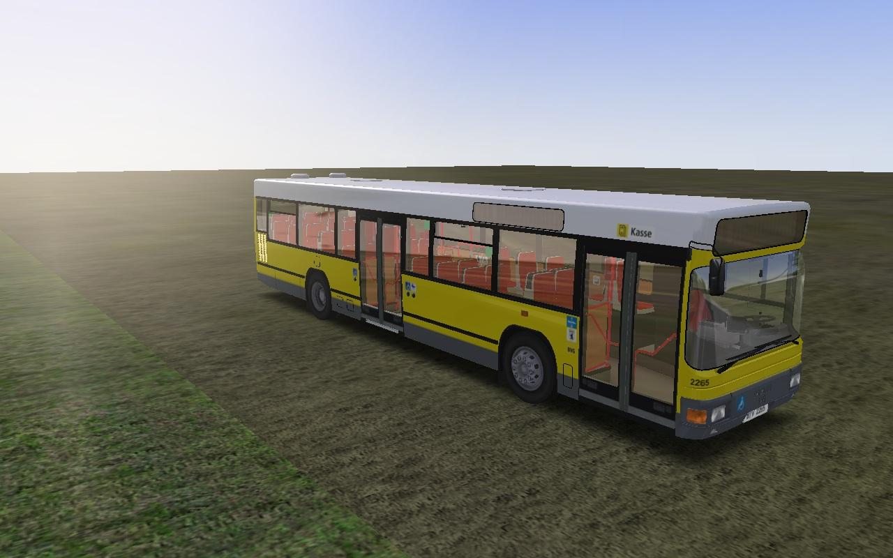 MAN NL202 BVG Corporate-Repaint - OMSI – The Bus Simulator