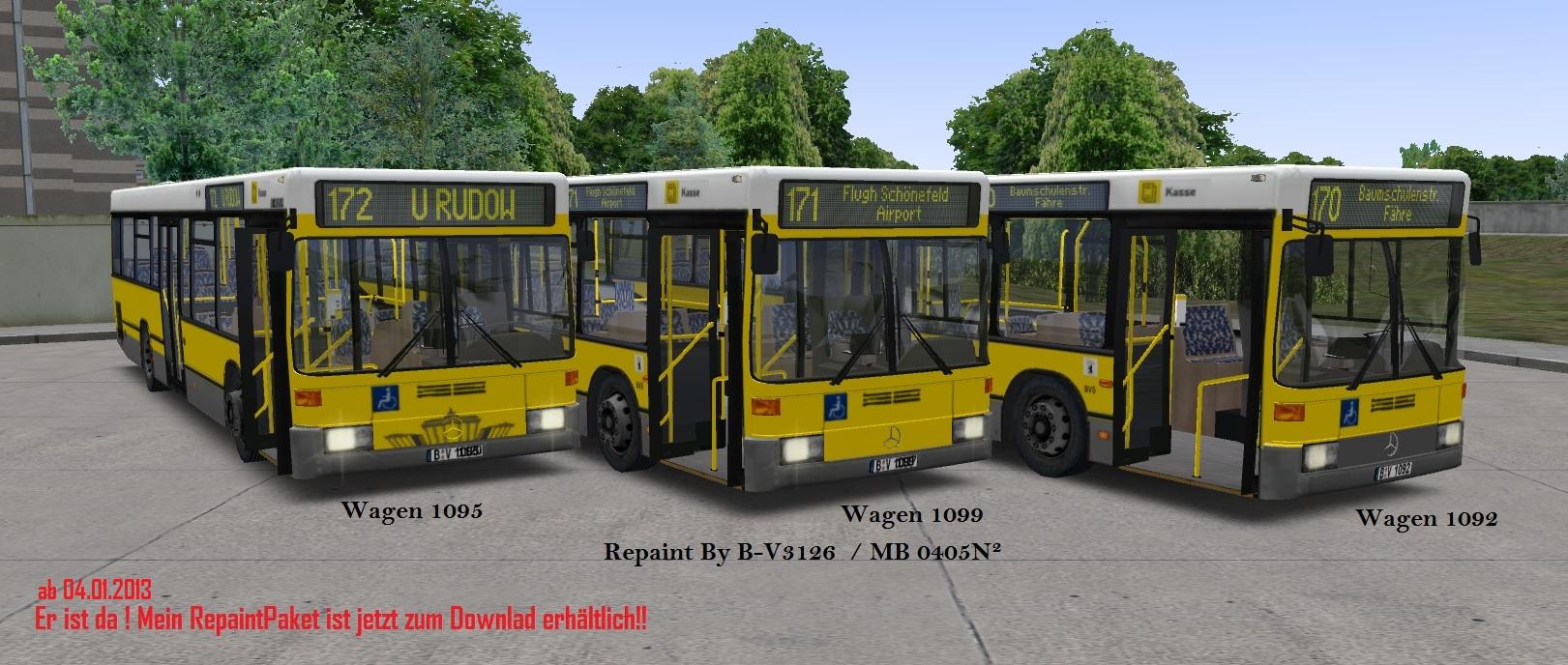 MB 0405N² BVG-Repaint - OMSI – The Bus Simulator - AEROSOFT