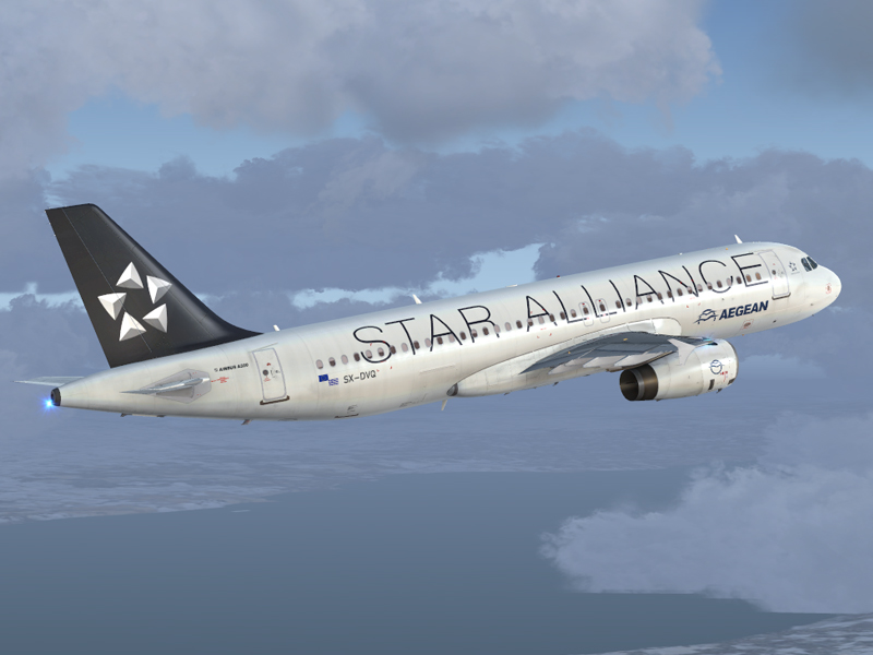 Airbus A320 IAE Aegean Airlines SX-DVQ - Airbus A320/A321