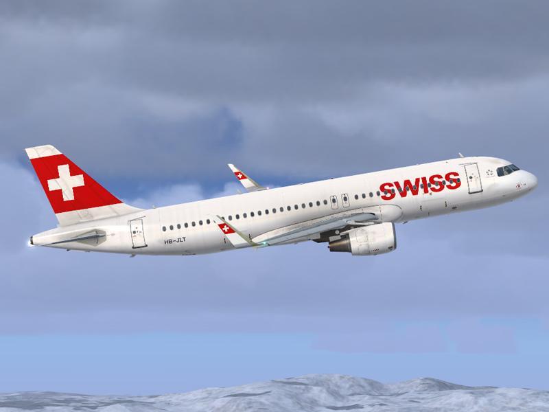 Airbus A320 NEO swiss HB-JLT - Airbus A320/A321 liveries - AEROSOFT