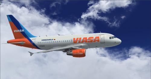 Screenshot for Airbus A318 CFM Viasa Vias Aereas Suramericanas (Fictional)