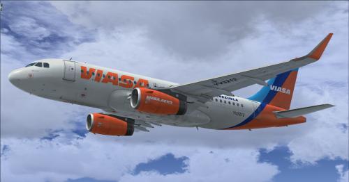 Screenshot for Airbus A319 IAE Sharklets Viasa YV3212 (Fictional)