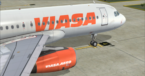 Screenshot for Airbus A320 IAE Sharklets Viasa YV3230 (Fictional)