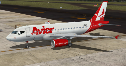 Screenshot for Airbus A319 IAE Avior Airlines YV3317 (Fictional)