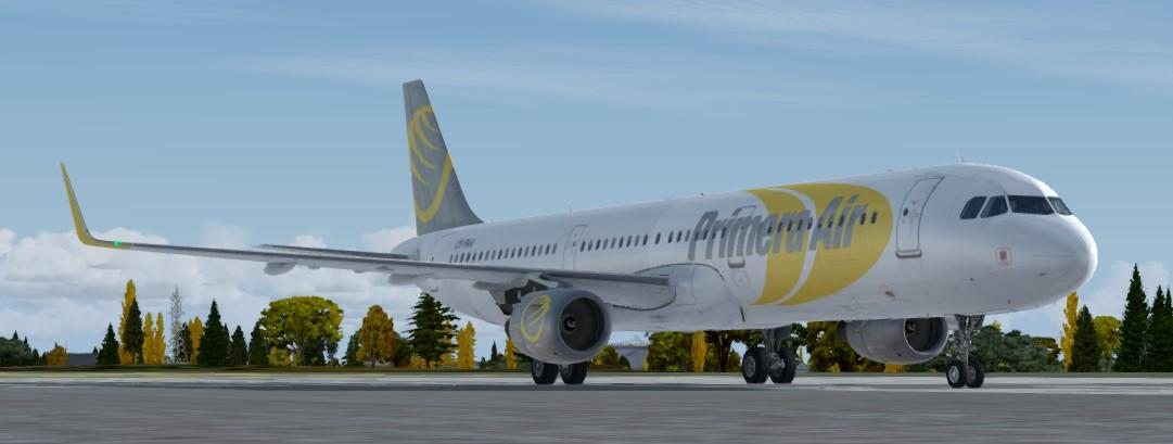 Aerosoft Airbus Professional A321CFM (NEO) Primera Air OY-PAA