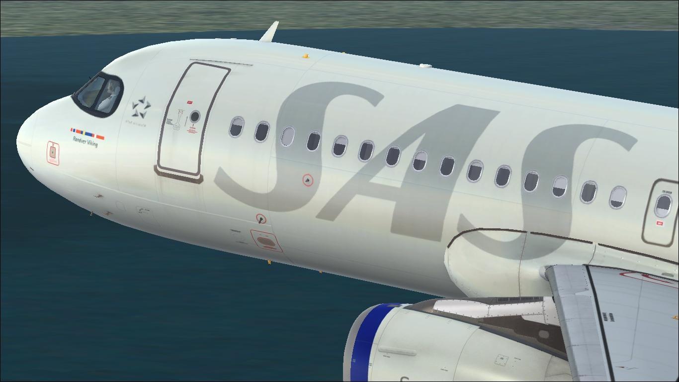 Scandinavian Airlines (circa 2019) OY-KAM Airbus A320 IAE