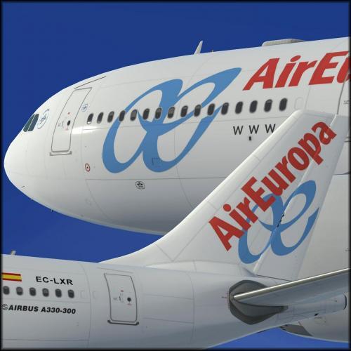 Air Europa EC-LXR A330 RR