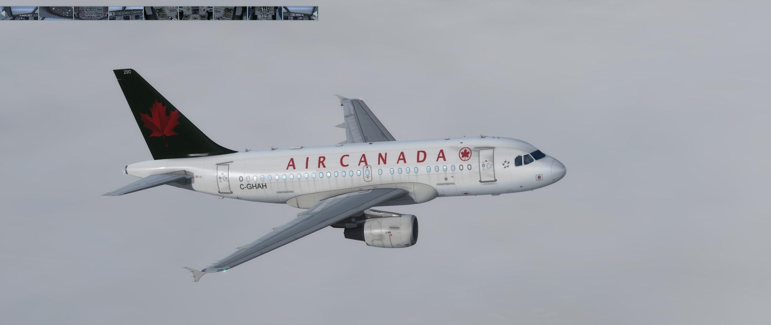 Air Canada A318 1990 Livery