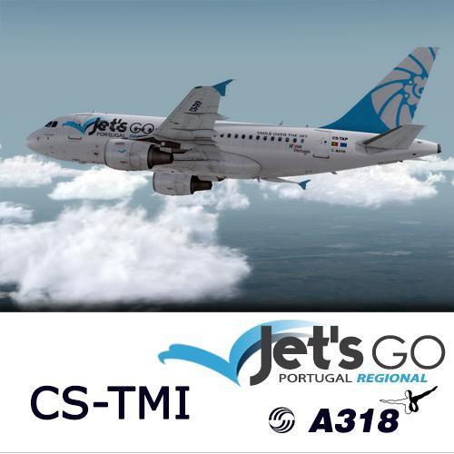 Screenshot for A318 Jet's Go Portugal Regional  CS-TMI (version 2017)