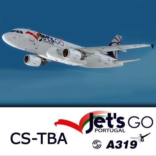 Screenshot for A319 Jet's Go Portugal CS-TBA (version 2017)
