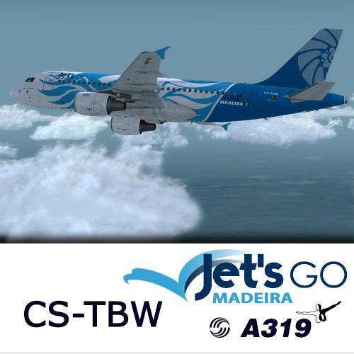Screenshot for A319 Jet's Go Madeira CS-TBW (version 2017)