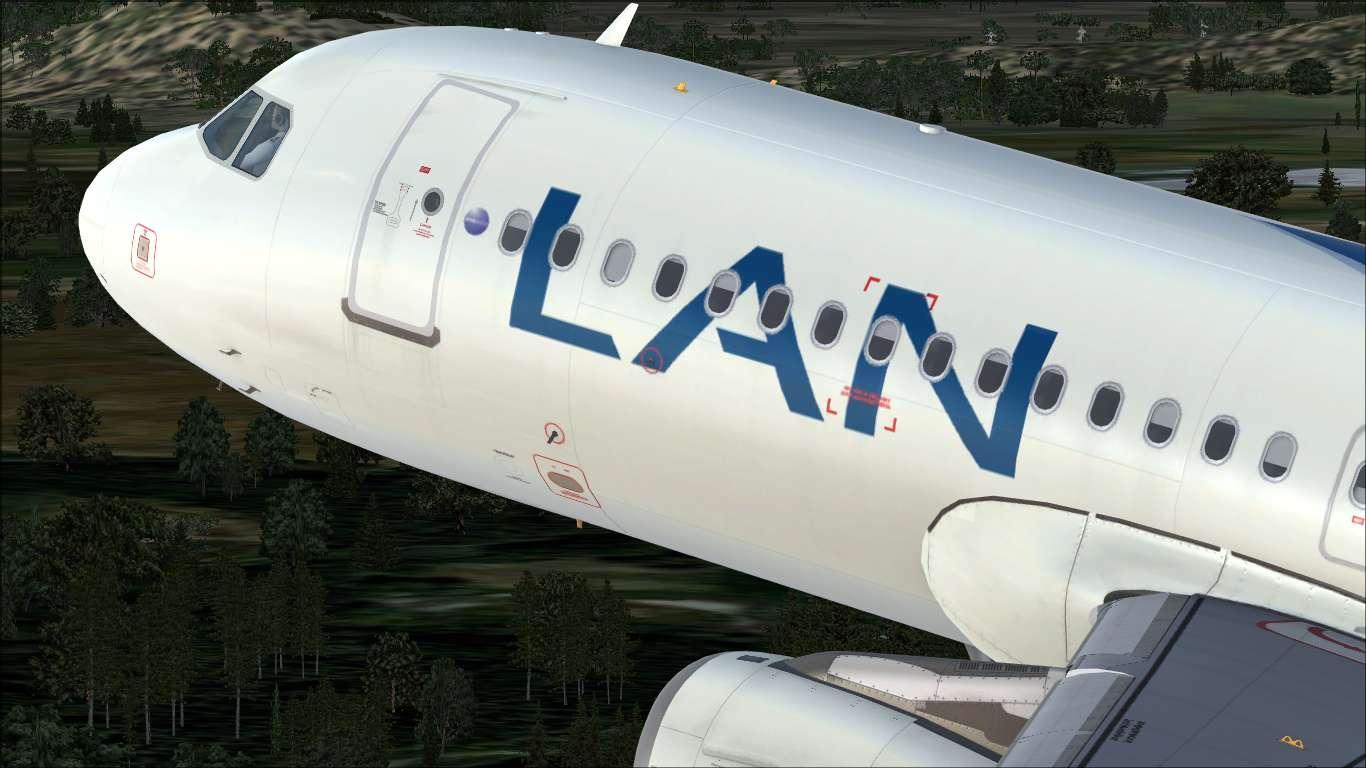 LAN Chile CC-COD Airbus A320 IAE