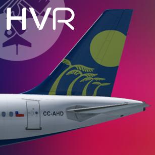 SKY Airbus A319 CC-AHD