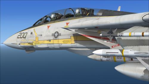 vf-33 starfighters - f-14 x repaints