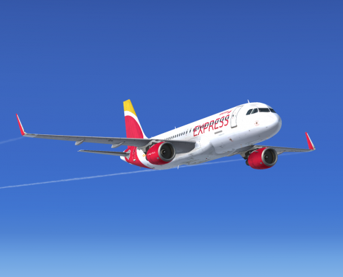 Airbus A320 CFM NEO IBERIA EXPRESS EC-LUS