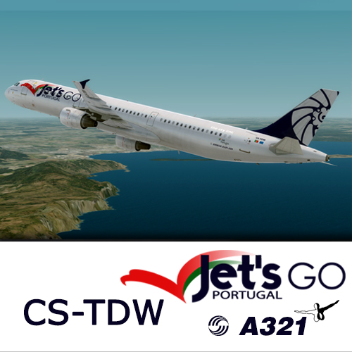 Screenshot for A321 Jet's Go Portugal CS-TDW (version 2017)