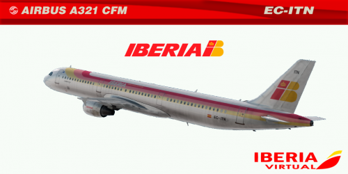 "Screenshot for IBERIA A321 CFM EC-ITN ""EMPURIES"""