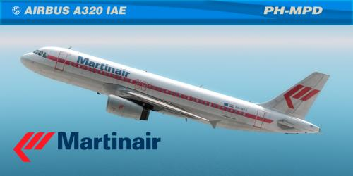 Screenshot for Martinair OLD  A320 IAE PH-MDP