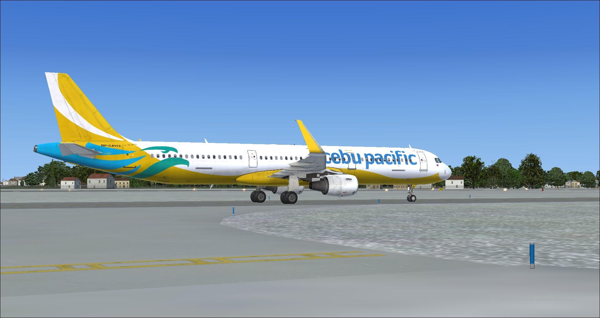 Cebu Pacific A321 - Airbus A320/A321 liveries - AEROSOFT