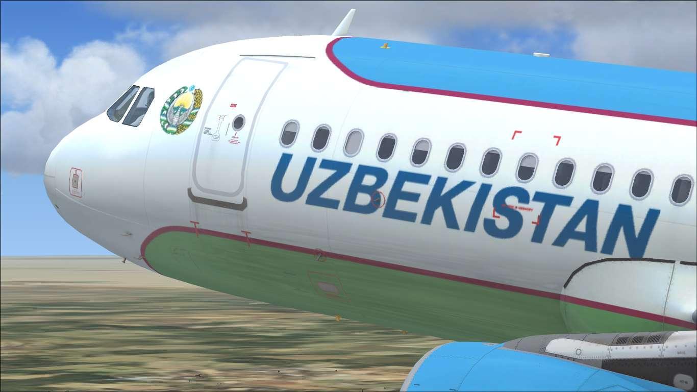 Government of Uzbekistan UK32000 Airbus A320CJ CFM