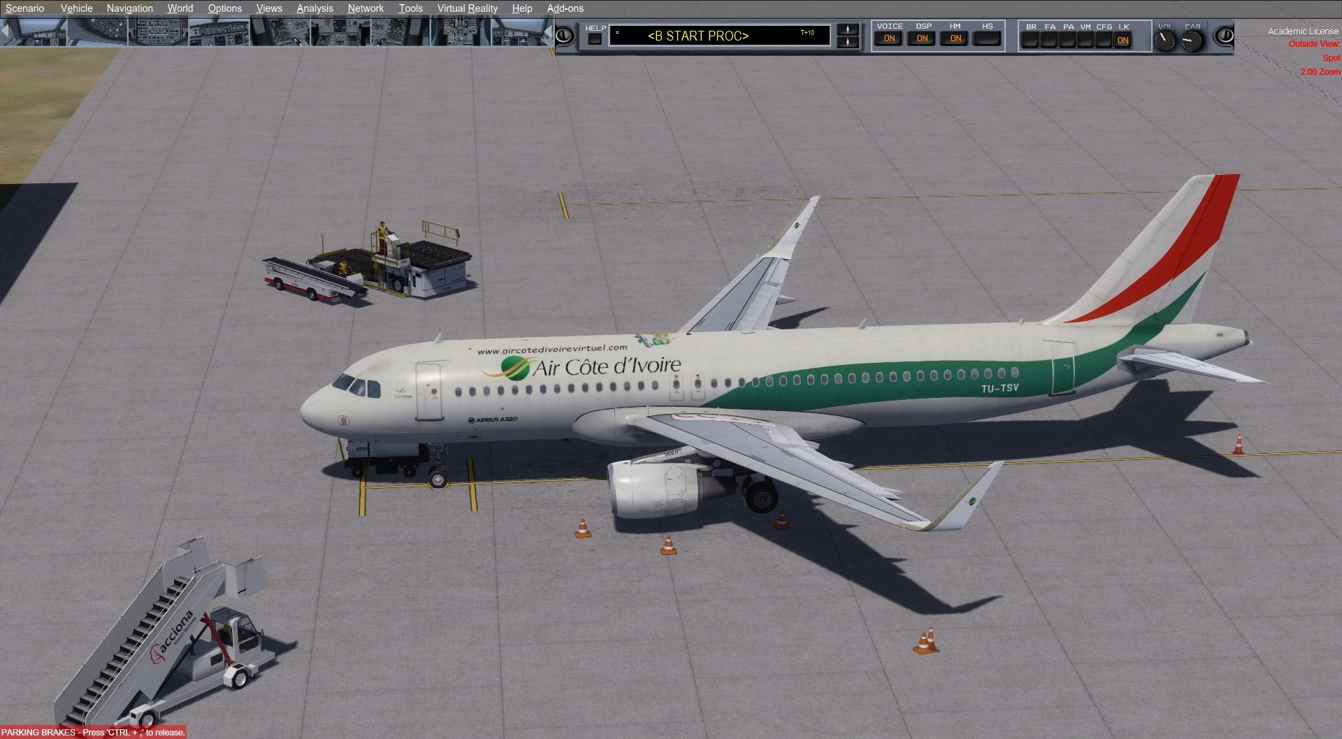 [P3D4] VRE A320 PRO