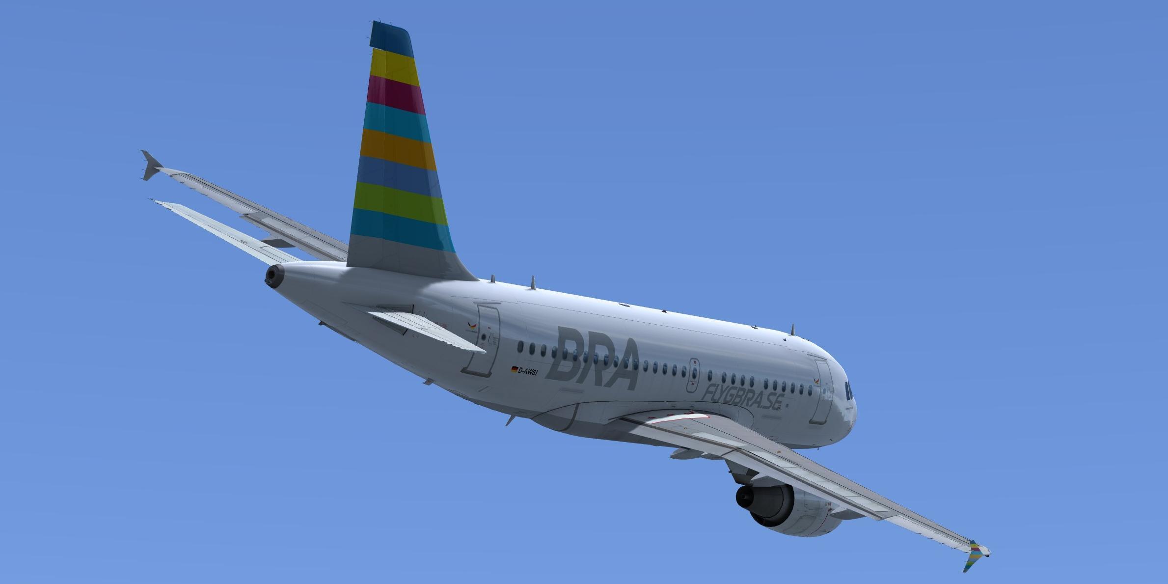 BRA Braathens Regional Airlines Airbus A318-111 CFM