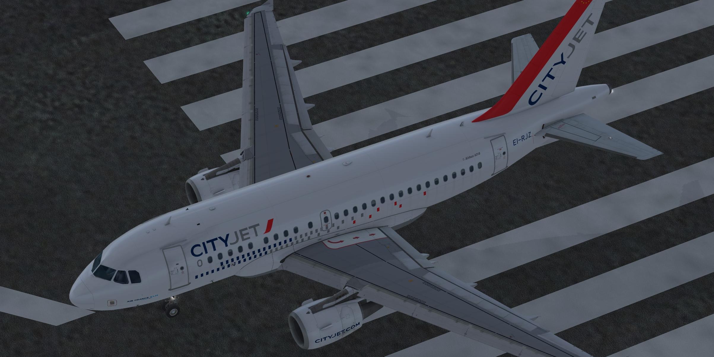 CityJet (fictional) Airbus A318-111 CFM
