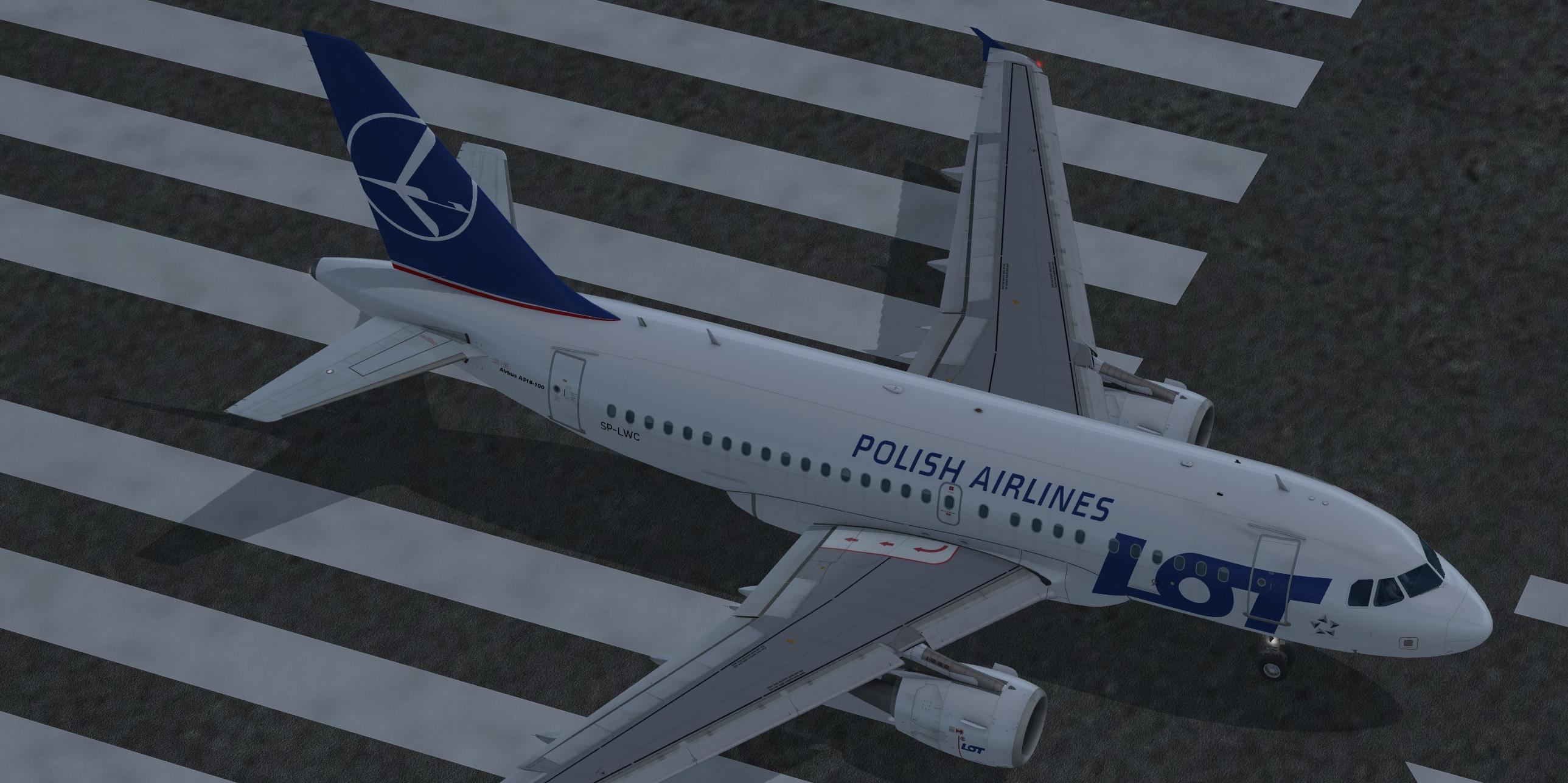LOT Polish Airlines (fictional) Airbus A318-111 CFM