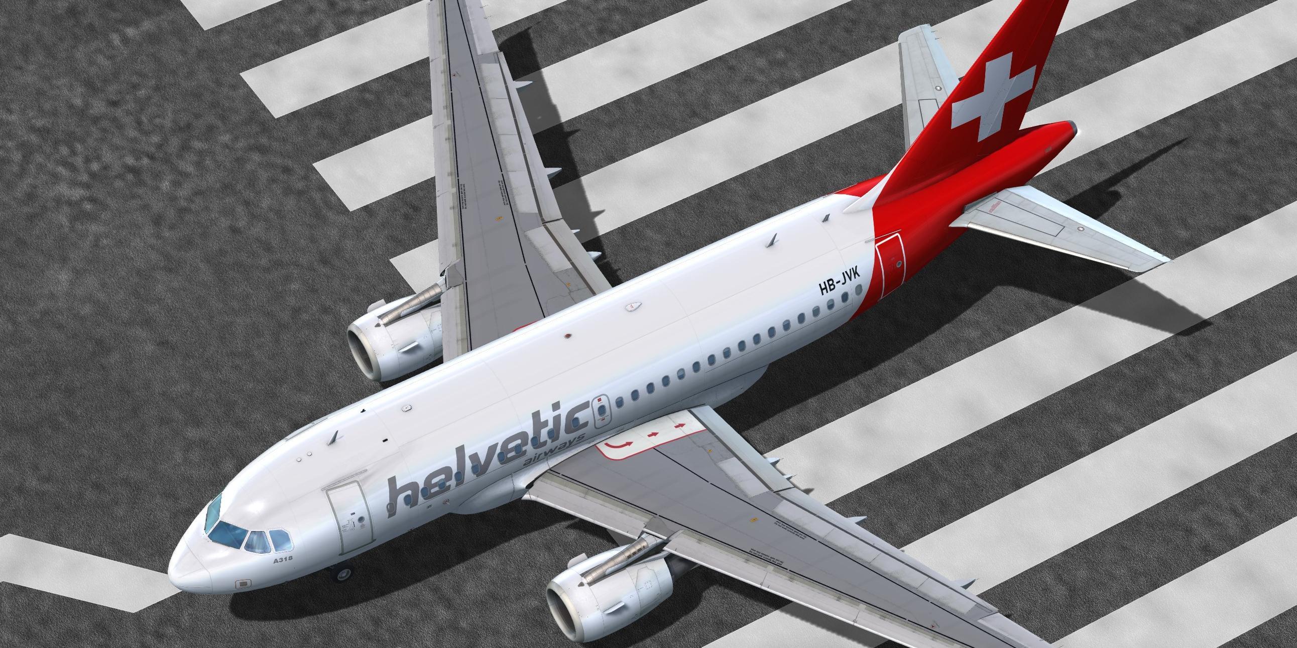 Helvetic Airways (fictional) Airbus A318-111 CFM