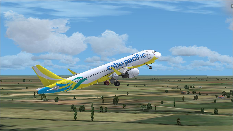 Cebu Pacific Air A320 New Livery RP-C4106 HD - Airbus A320/A321