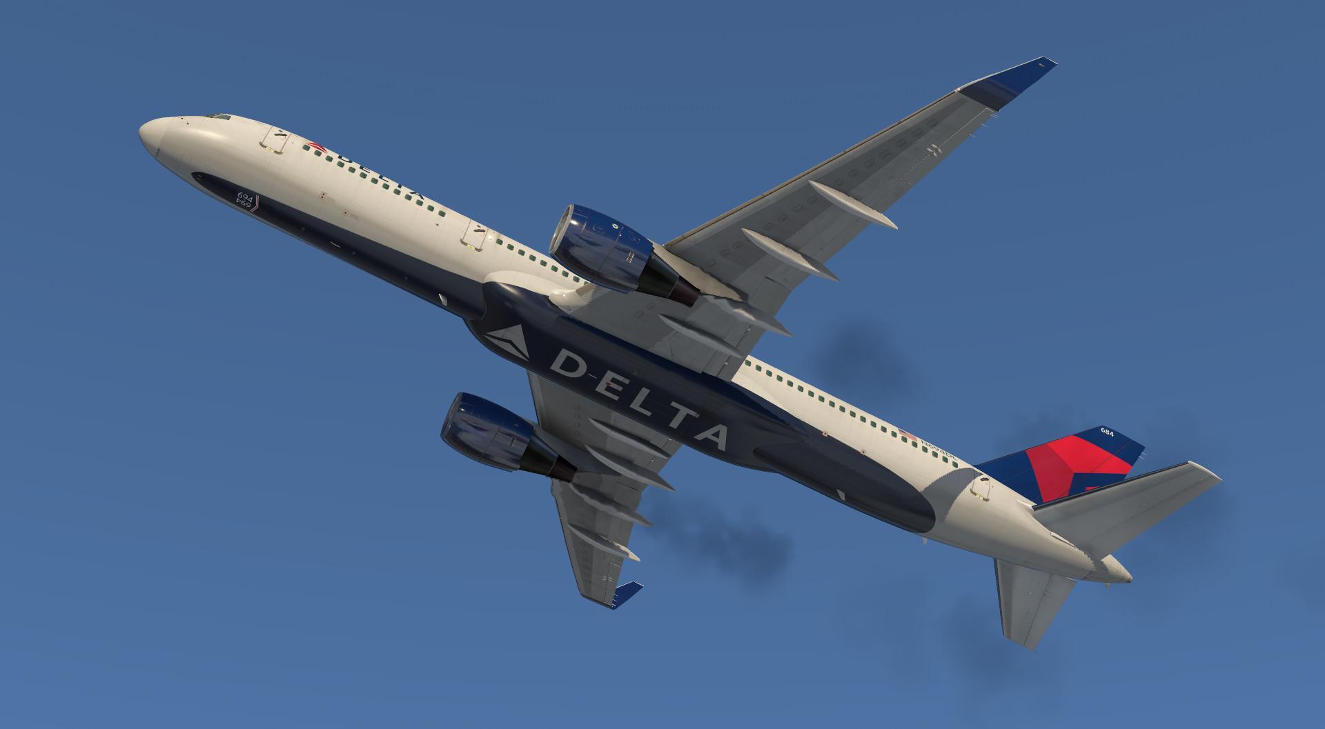Flight Factor 757v2 Delta