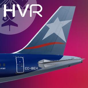 LAN Airlines Airbus A321 CC-BEH