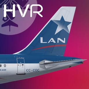 LAN Chile Airbus A320 CC-COC Retro Livery