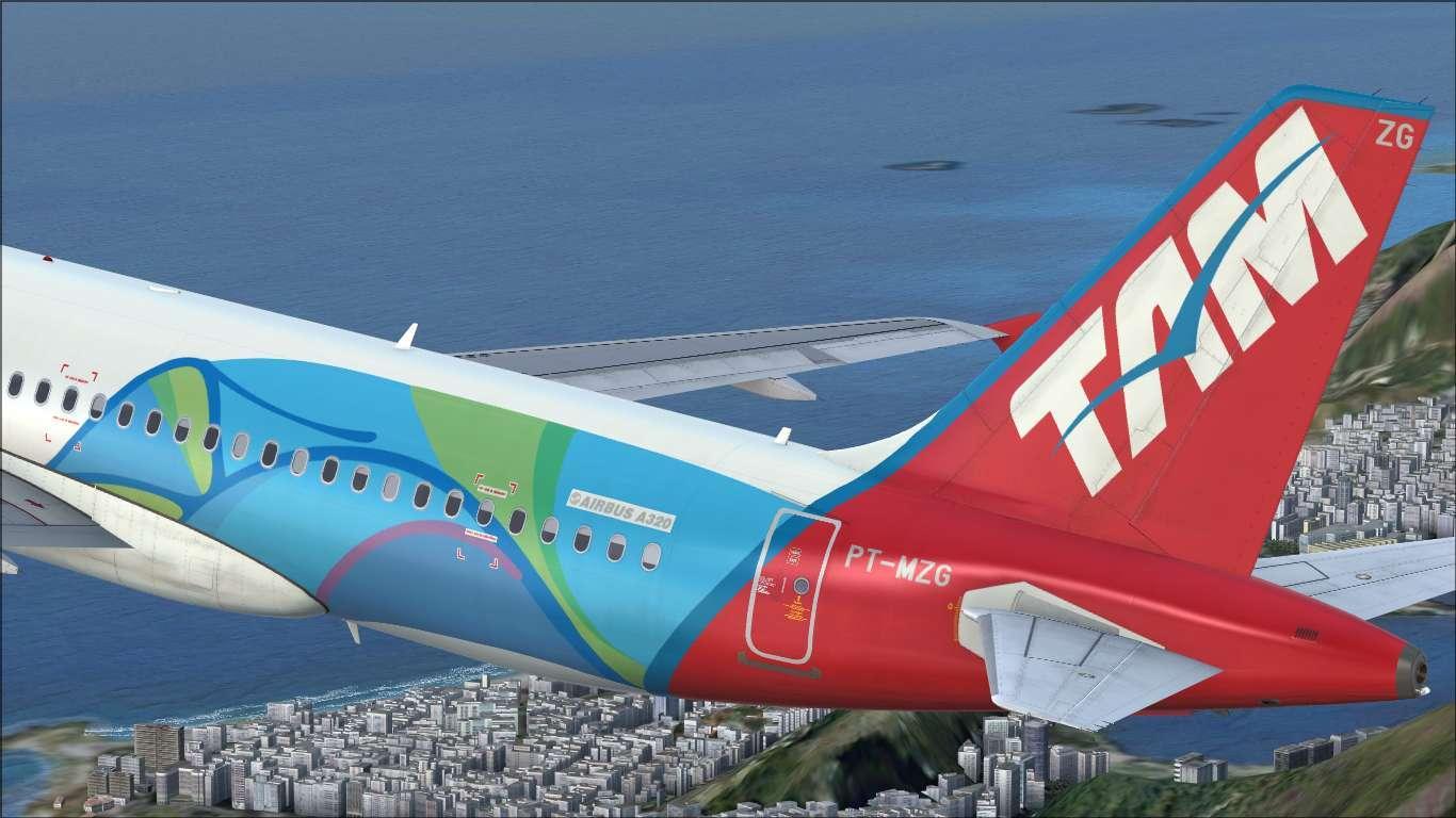 """TAM """"Rio 2016"""" PT-MZG Airbus A320 IAE"""